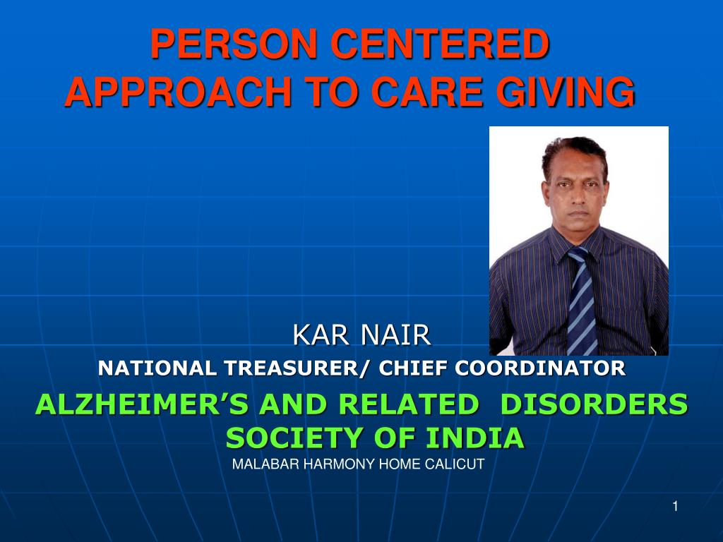 person centered approach to care giving l.