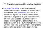 iv etapas de producci n en el corto plazo1