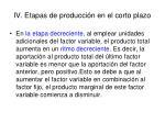 iv etapas de producci n en el corto plazo3