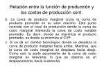 relaci n entre la funci n de producci n y los costos de producci n cont