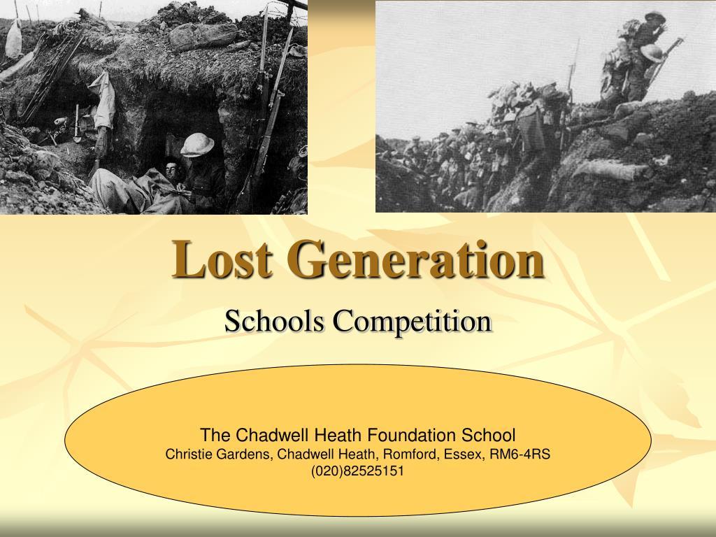 lost generation l.