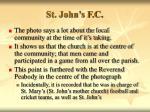 st john s f c