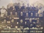 this photograph is of the st john s football club in the 1911 1912 season