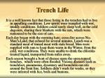 trench life