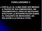 conclusiones v