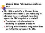 western states petroleum association v epa