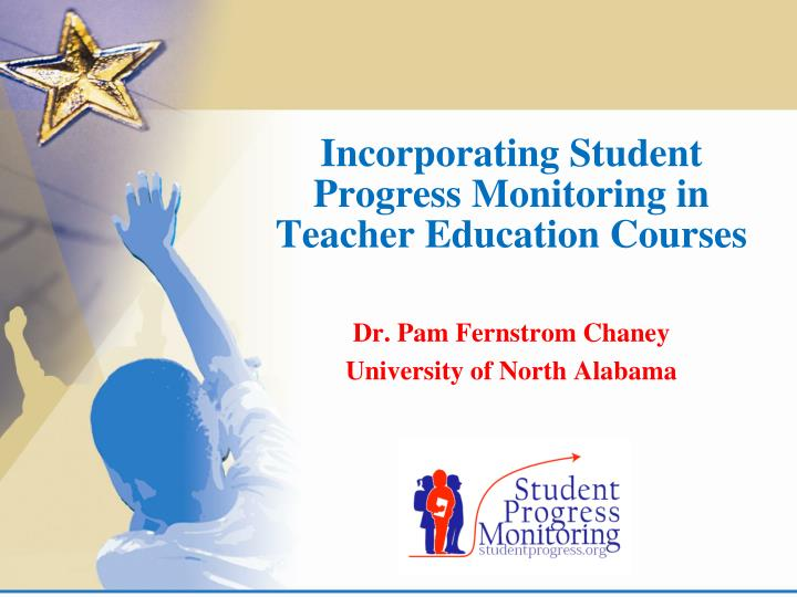 incorporating student progress monitoring in teacher education courses n.