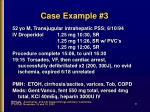 case example 3