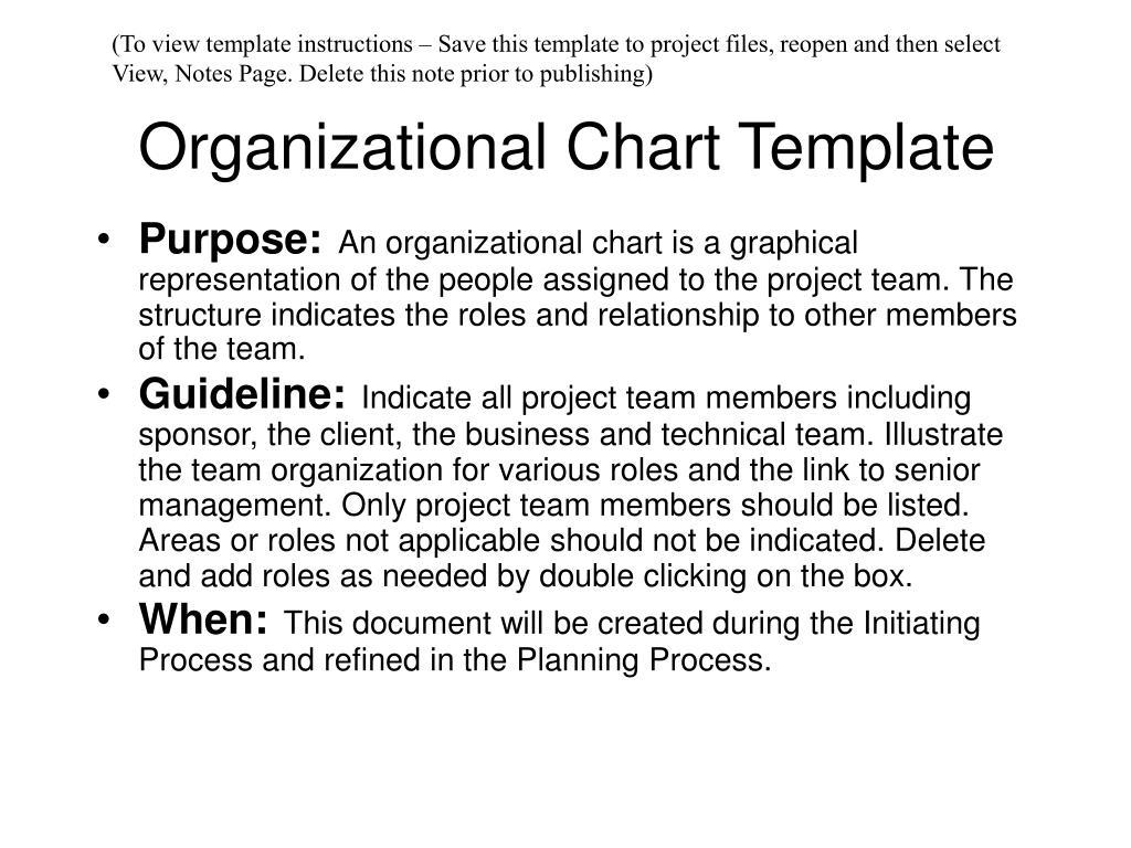 organizational chart template l.