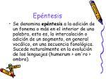 ep ntesis