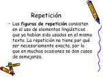repetici n