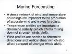 marine forecasting11