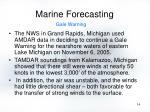 marine forecasting14