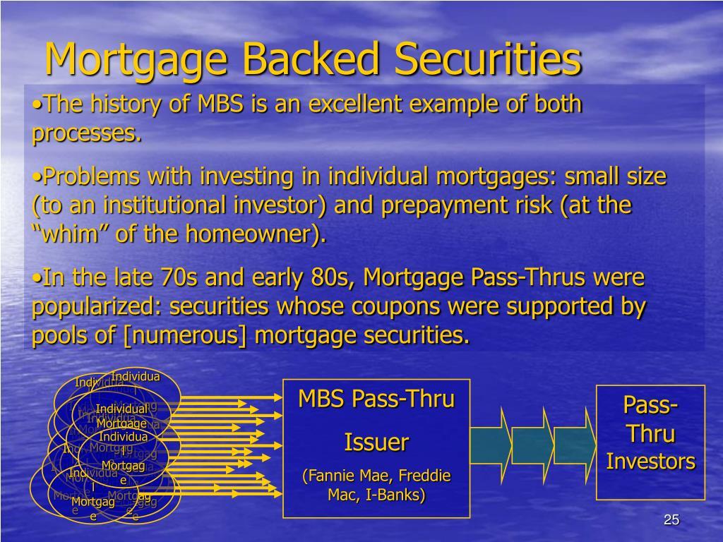 Individual Mortgage