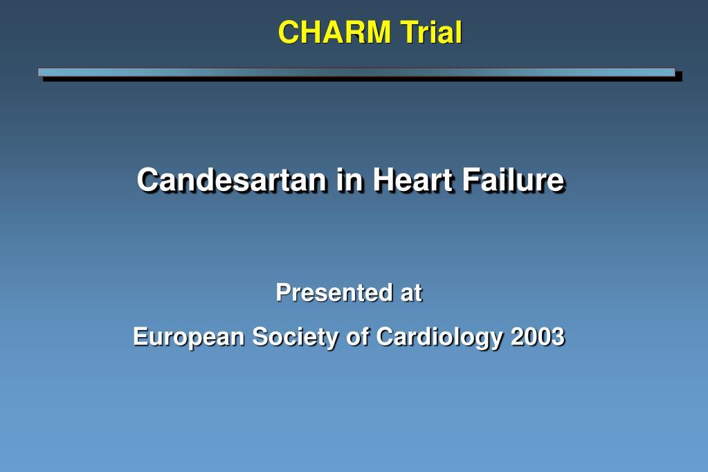 candesartan in heart failure l.