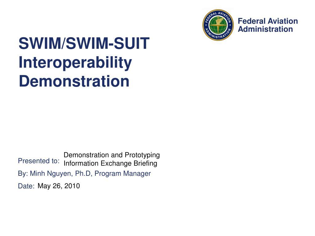 swim swim suit interoperability demonstration l.