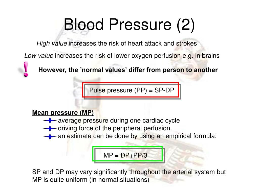 Ppt Blood Pressure And Flow Measurements Powerpoint Presentation