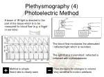 plethysmography 4 photoelectric method