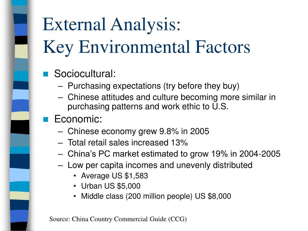 analysis on key sources
