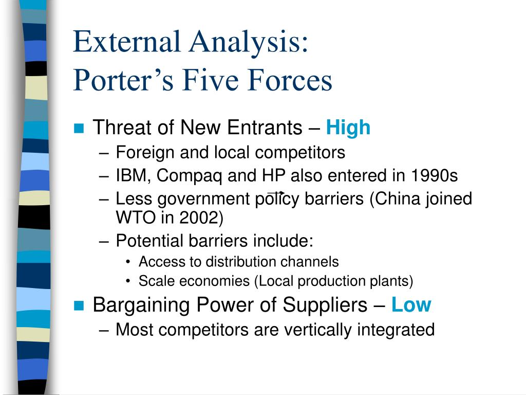 porter five force analysis on lego
