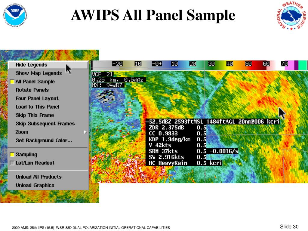 AWIPS All Panel Sample