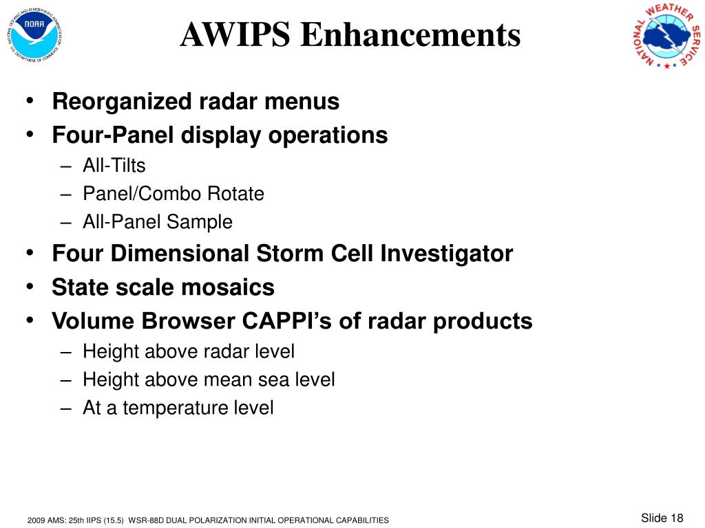 AWIPS Enhancements