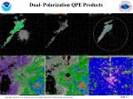 dual polarization qpe products