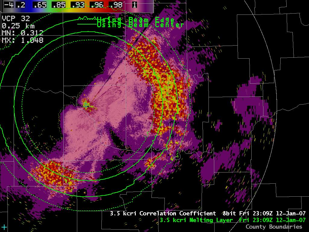 ML Product in AWIPS