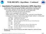 wsr 88d rpg algorithms continued8