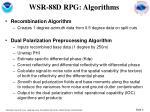 wsr 88d rpg algorithms