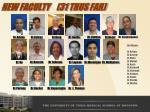 new faculty 31 thus far