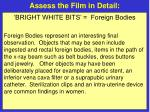 assess the film in detail21