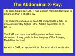 the abdominal x ray4