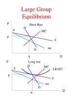 large group equilibrium