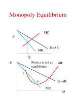 monopoly equilibrium1