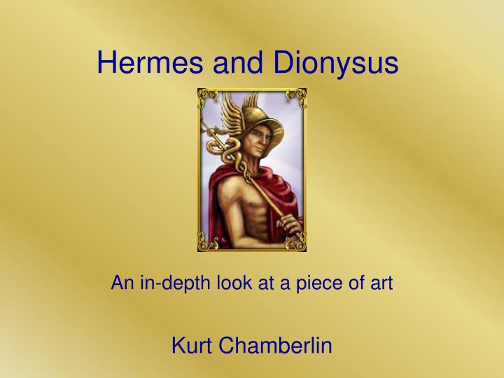 hermes and dionysus n.