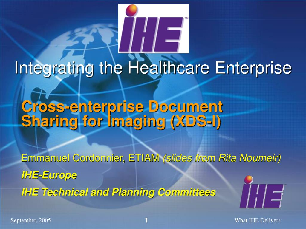 integrating the healthcare enterprise l.