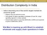 distribution complexity in india27