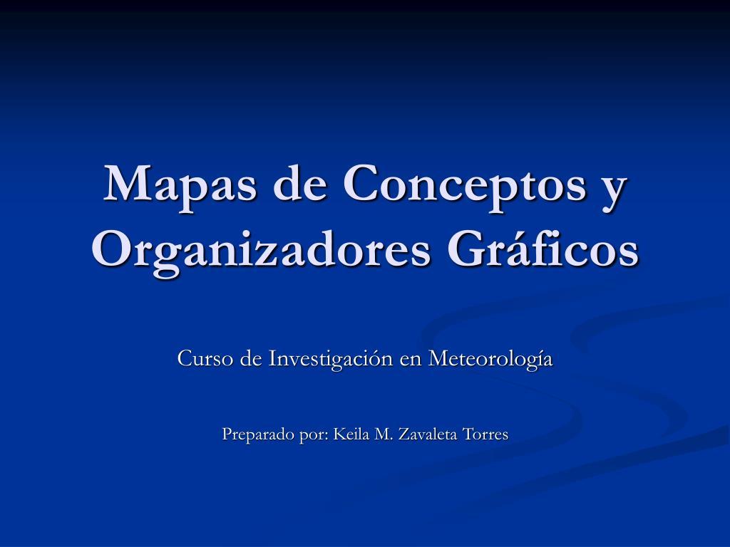 mapas de conceptos y organizadores gr ficos l.