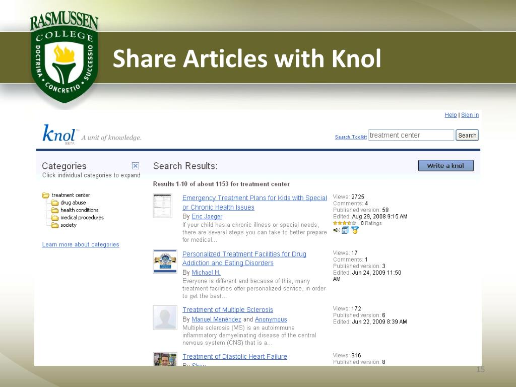 Share Articles with