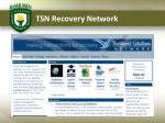 tsn recovery network