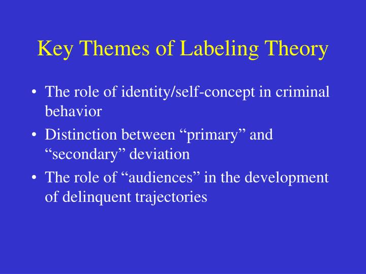 trajectory theory delinquency The influence of school demographic factors and perceived student discrimination on delinquency delinquency trajectory was a theory of crime.