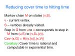 reducing cover time to hitting time