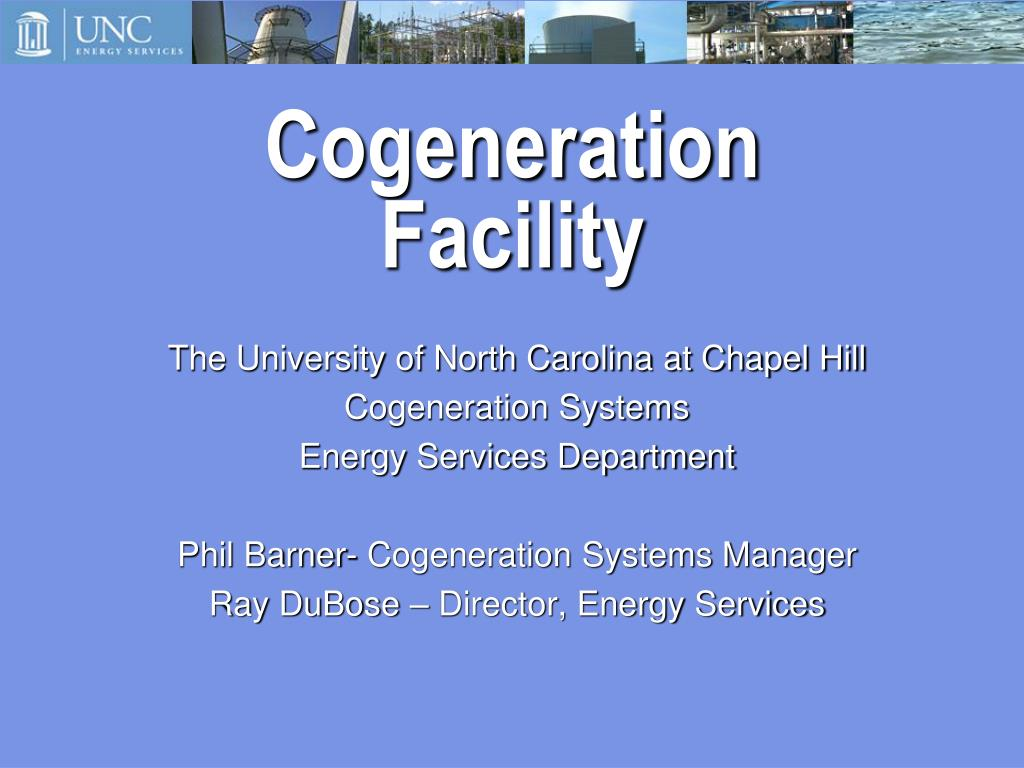 cogeneration facility l.