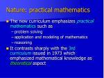 nature practical mathematics