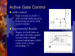 active gate control17
