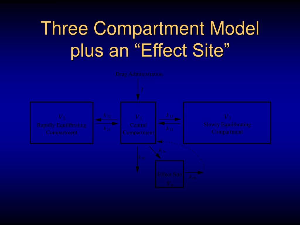 Three Compartment Model