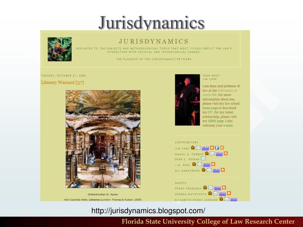 Jurisdynamics