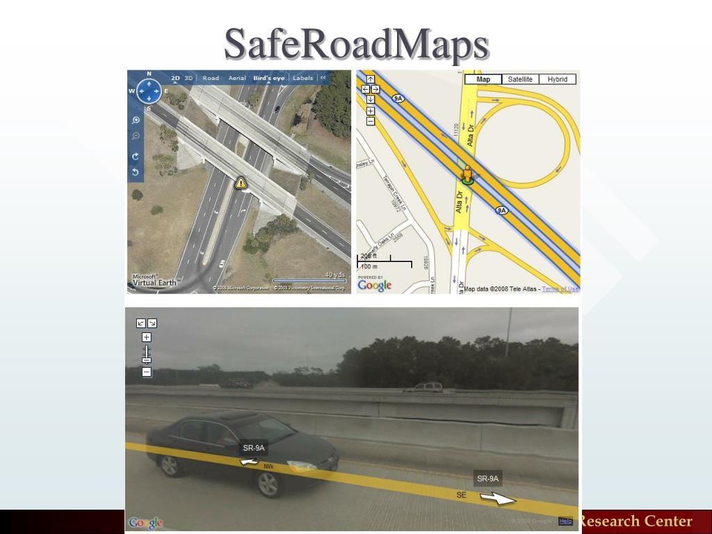 SafeRoadMaps