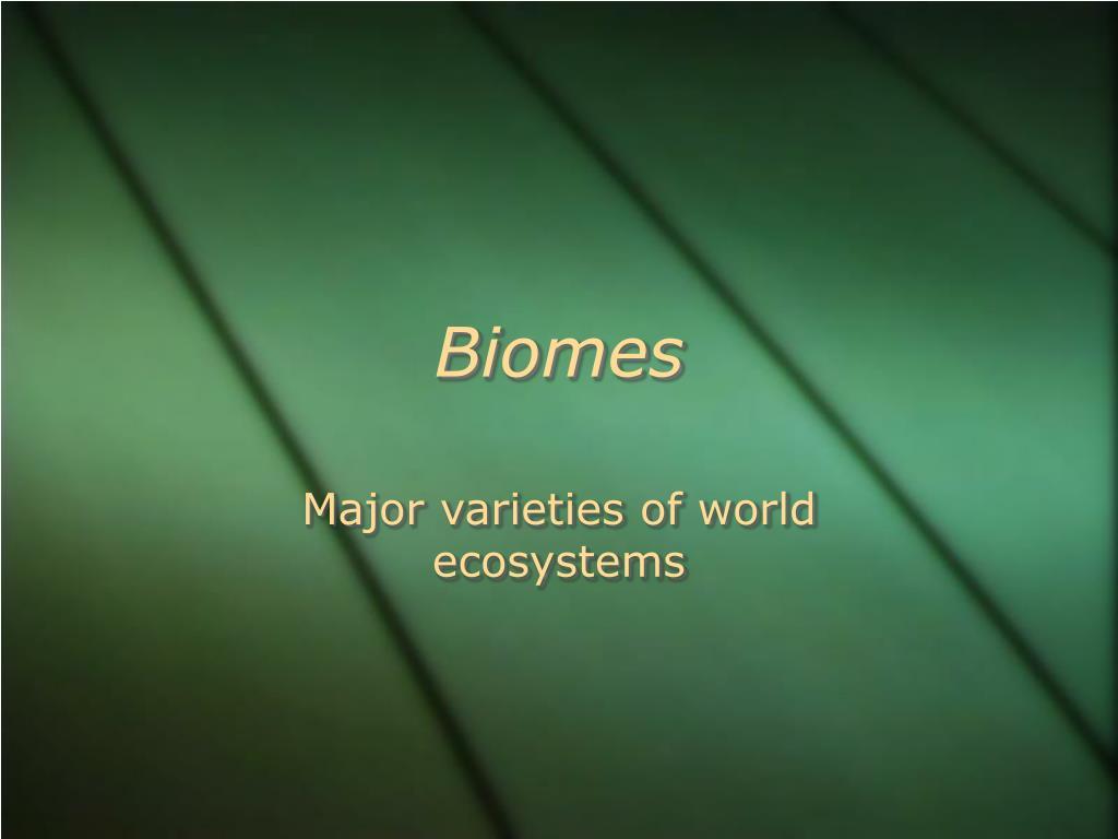 biomes l.